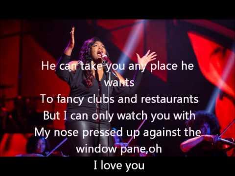 Candice Glover-I Who Have Nothing-American Idol 12[Lyrics]