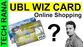 How To Get UBL Wiz Card Urdu UBL Prepaid Wiz Card