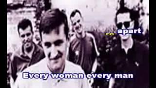 HOUSEMARTIN- CARAVAN OF LOVE - KARAOKE