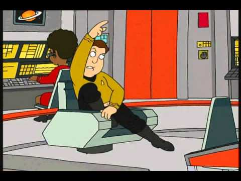 family guy star trek