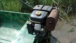 Мотор болотоход Сусанин Lifan 6 5 (короткий)
