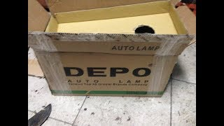#Ебан*е, Китайское говно! #Обзор фар DEPO на BMW e30.