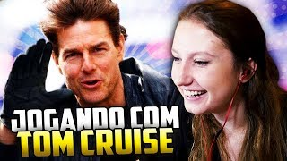 JOGUEI COM O TOM CRUISE!