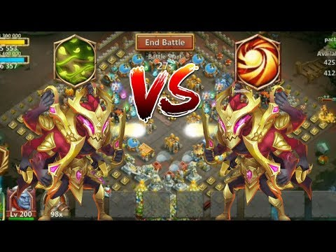 12 Skill Asura | Vital Boon | Vs | Sacred Light | Gameplay | Castle Clash