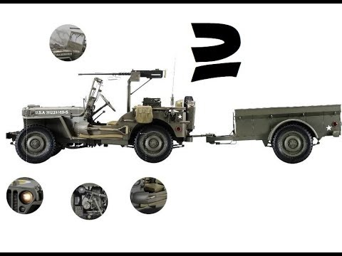 jeep willys mb 2 youtube. Black Bedroom Furniture Sets. Home Design Ideas