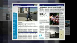 Newspaper Template 24 Pages