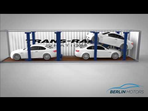 Berlin Motors Logistics | How to load cars in a container