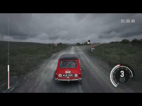 Dirt Rally Mini Cooper gameplay