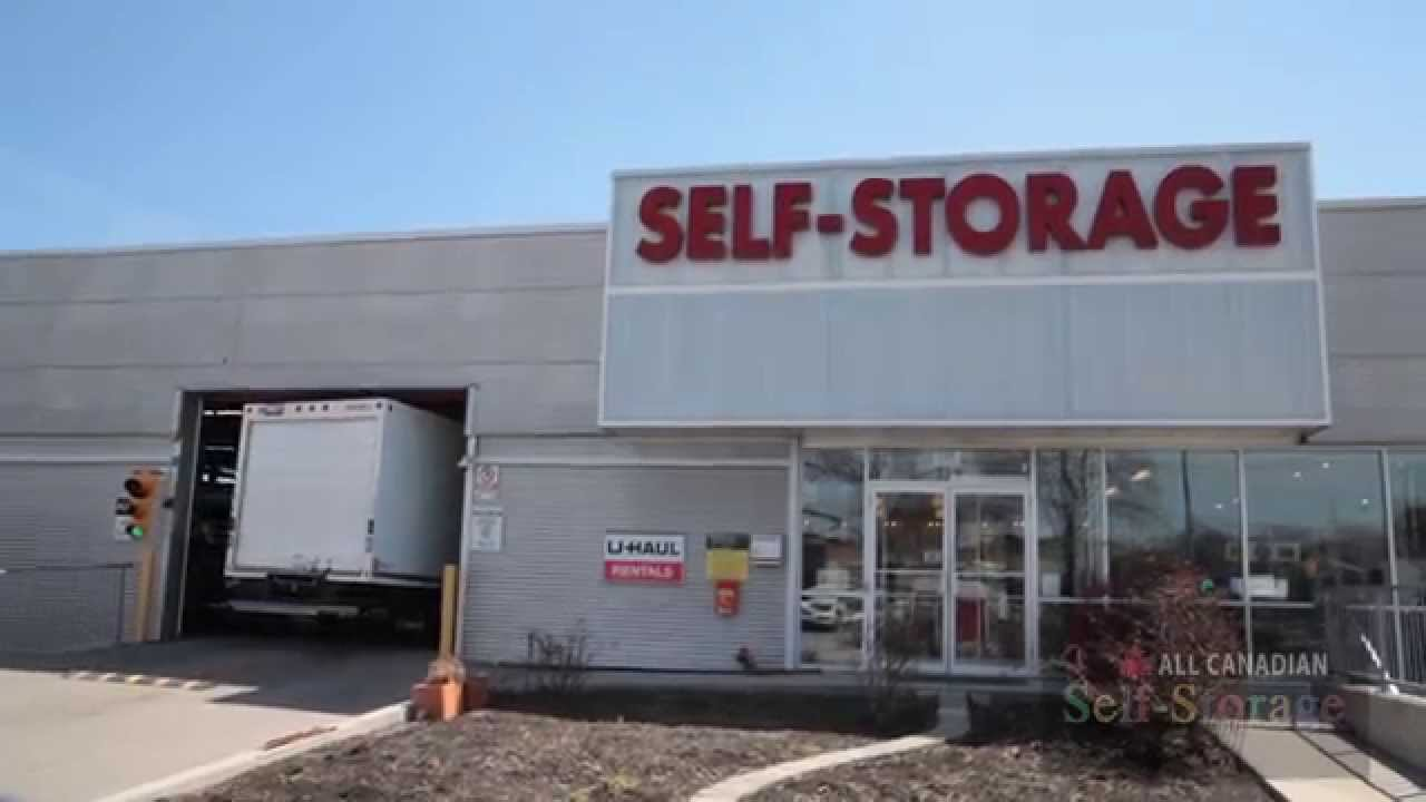 All Canadian Self Storage Toronto Container Mobile Units