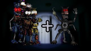 ( FNAF SPEED EDIT ) Ignited FNAF 4 Animatronics + Twisted Creation  l TJOC l JHH114 thumbnail
