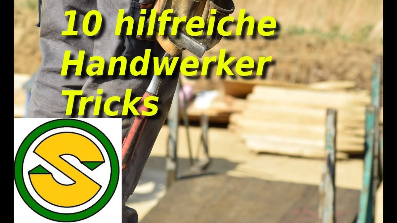 Download 10 hilfreiche Handwerker Tricks