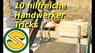 10 hilfreiche Handwerker Tricks