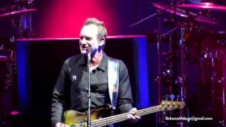 Sting and Peter Gabriel - AN ENGLISHMAN IN NEW YORK - Nikon at Jones Beach Theater - 6/24/16