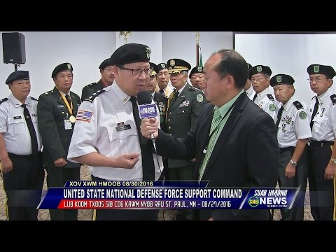 SUAB HMONG NEWS:  United States National Defense Force Support Command Leadership Training