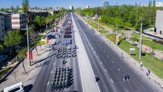 Липецк - репетиция Парада Победы 9 мая 2017 г.