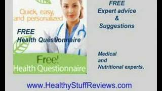 Your personalized health questionnaire: get vitamin, supplement, lifestyle recommendations from www.healthystuffreviews.com