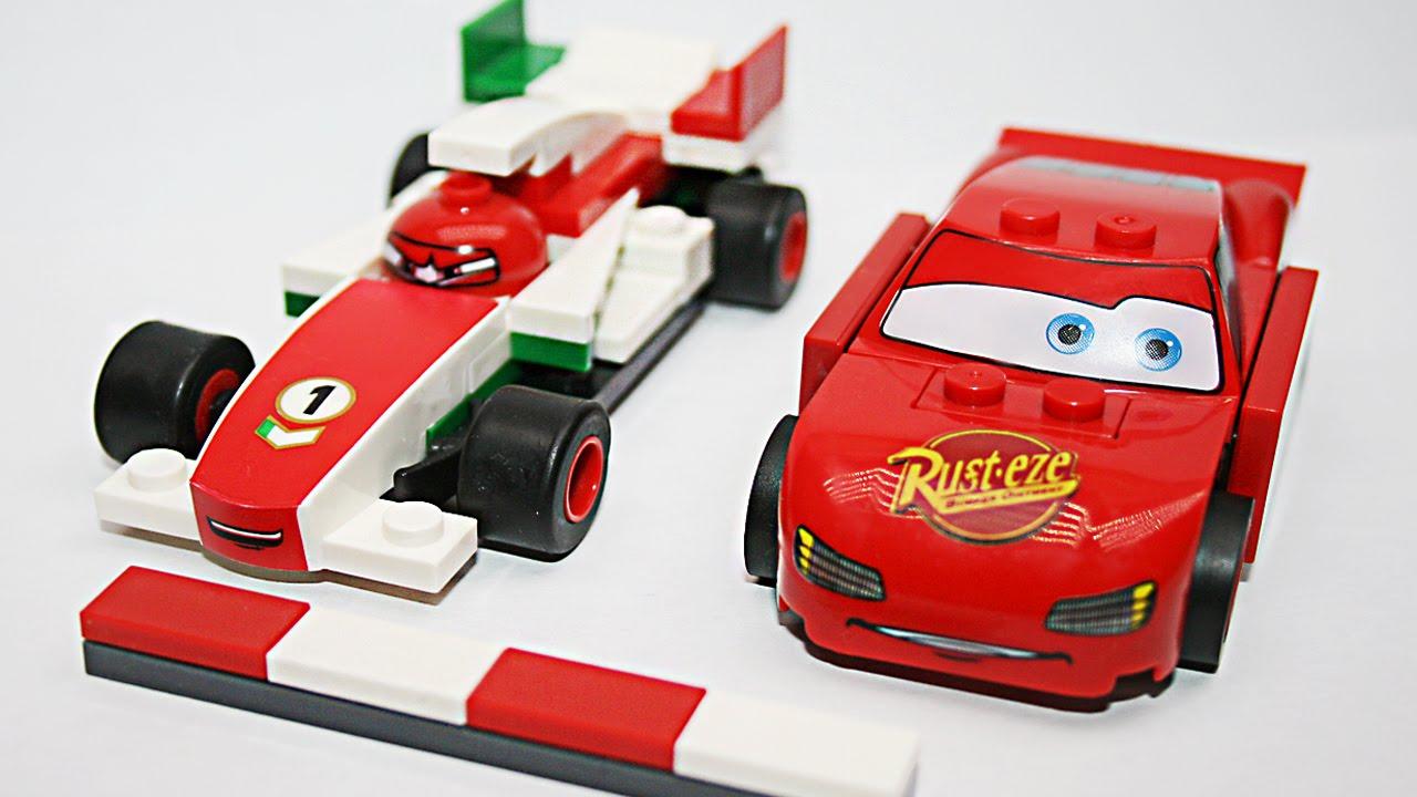 Мультфильм про игрушечные машины:Гоночная машинка - Игрушки Тачки .