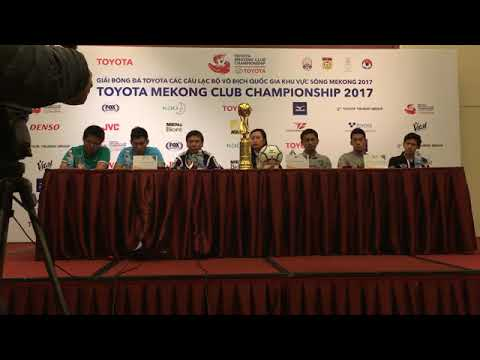 TMCC 2017 Final (1st Leg) Pre-match Press Conference