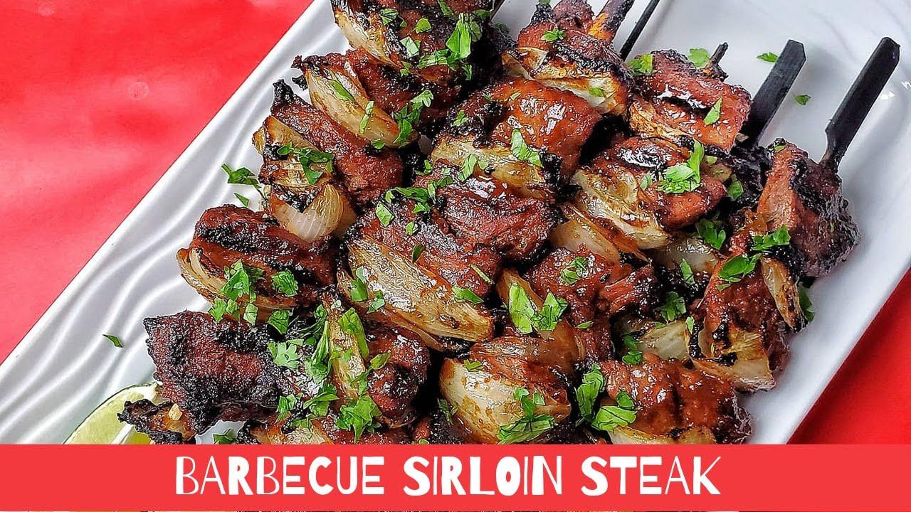 Barbecue Sirloin Steak   Steak Meat   Better thank takeout   Abyshomekitchen