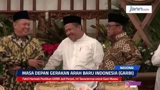 Fahri Hamzah Pastikan GARBI Jadi Parpol, Ini Tawarannya untuk Gaet Massa