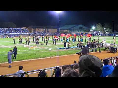 Cabrillo High School Marching Band field show 2017