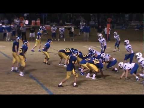 Rollin Jenkins 2012 Football Highlights, Highland School of Technology