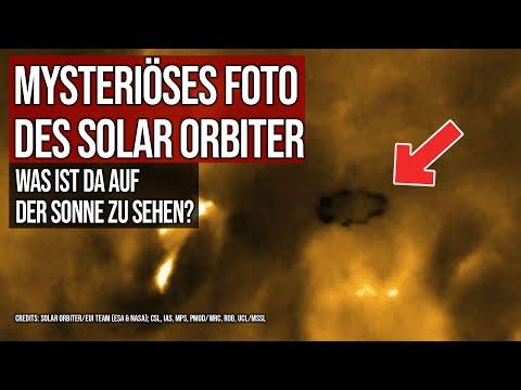 Mysteriöses Foto des Solar Orbiter - Was ist da auf der Sonne zu sehen?