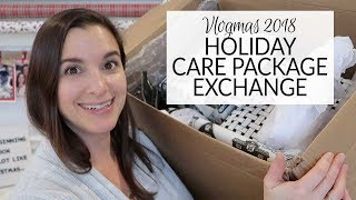 Vlogmas 2018 | Holiday Care Package Exchange with Christopher Allen