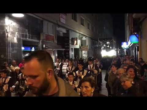 Procesión del Santo Entierro, en Marín