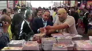 مدير أمن بورسعيد  يفتتح معرض