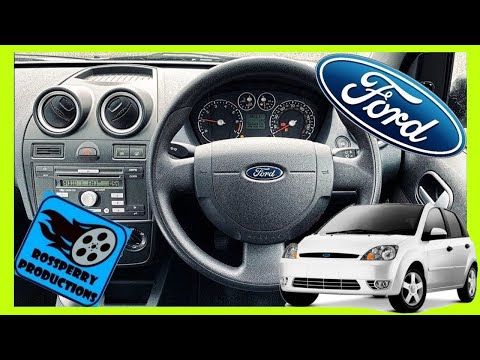 Ford Fiesta MK6 02-08 Steering Wheel & Airbag Removal and Replacement