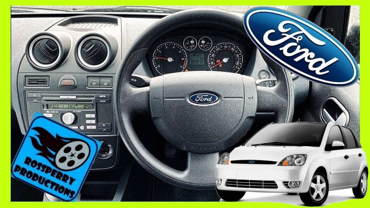 Ford Fiesta Mk6 02 08 Steering Wheel Amp Airbag Removal And