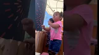 Baby Girl Does Funny Dance Movw 1049823