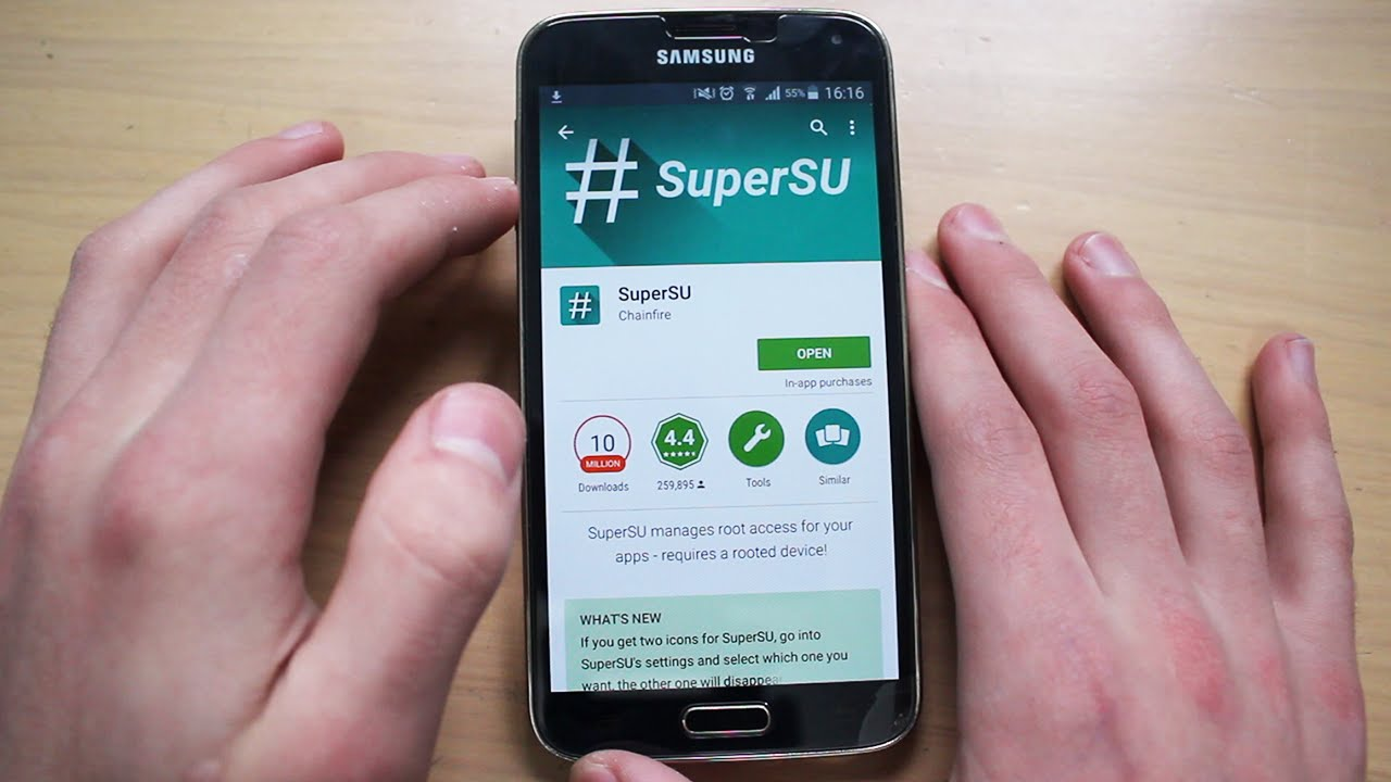 application to root samsung galaxy s5
