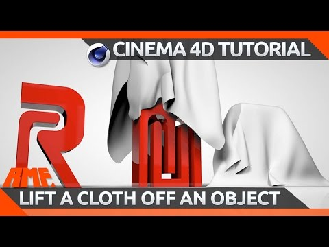 Cinema 4D tutorial - Lifting a cloth off an object