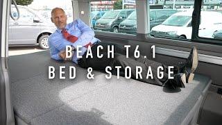 VW California Beach T6.1 Bed & Storage | California Chris