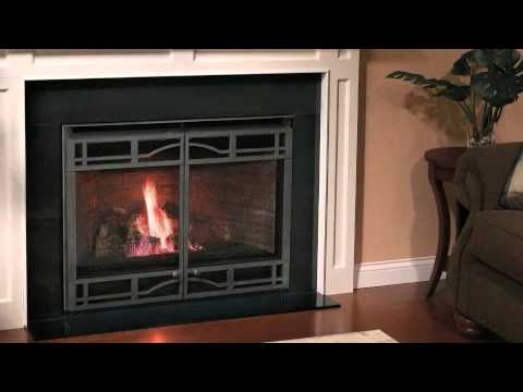 Heatilator 174 Novus Gas Fireplace Video Youtube