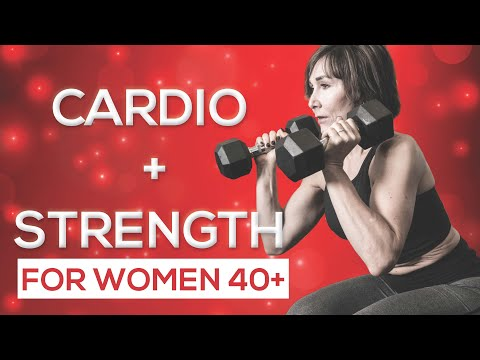 Full body Strength & Cardio Workout for Women Over 40
