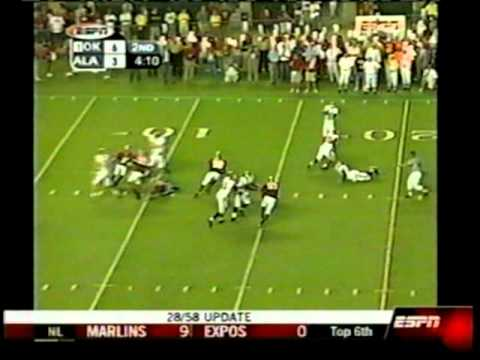 Oklahoma @ Alabama   *(from 9/06/03)