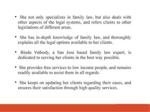 Bindu Vethody A Knowledgeable San Jose Based Family Law Attorney