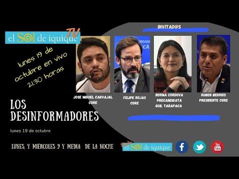 Los Desinformadores lunes 19 octubre