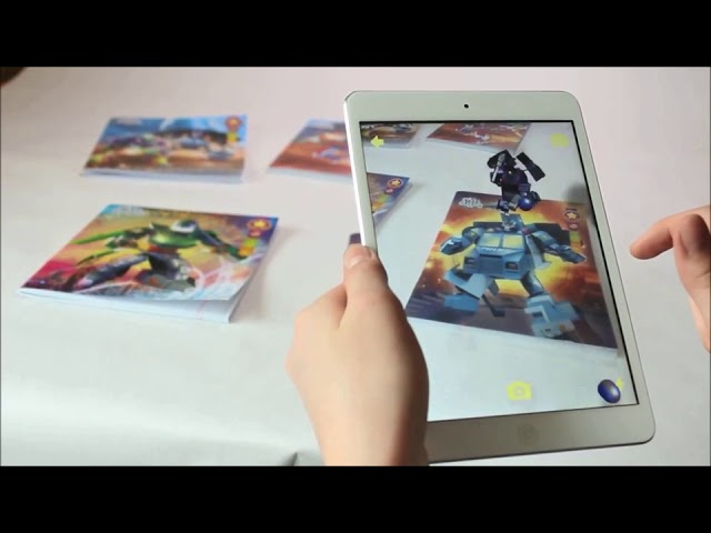 Augmented Reality Notebook - Transformers - TIGRA Live Animations