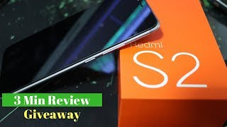 Xiaomi s2  Quick Review (from Lazada)- Camera and Gaming test Giveaway