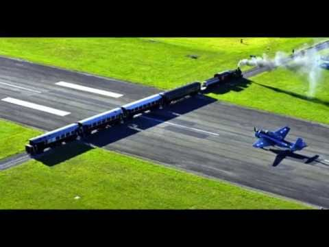 New Zealand - Gisborne Airport - Runway With a Railway Crossing