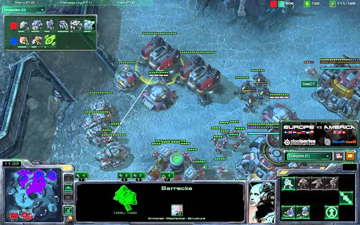 Liquidret Z Vs Select T G3 Eu America Starcraft 2