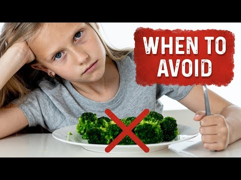 When NOT to Eat Vegetables