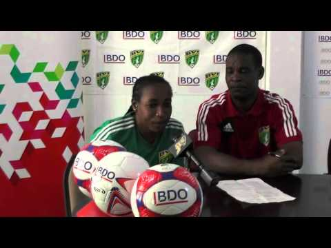 BVIFA Press Conference, 16th September, 2015