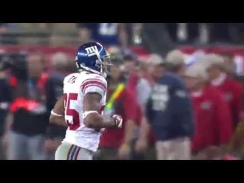 NY Giants Superbowl XLII Helmet catch (David Tyree)