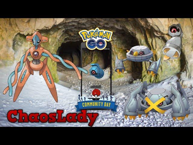 Deoxys Werte/Attacken + Tanhel Community Day - Pokémon GO deutsch