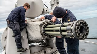 The Powerful US Phalanx CIWS in Action
